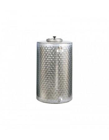 CUVE INOX 320 L FOND PLAT
